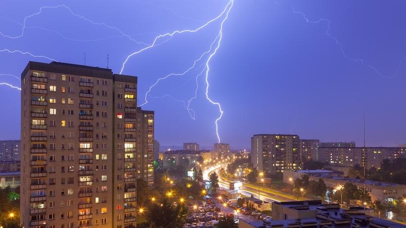 Burze nad Polską. Straty po załamaniu pogody na Podlasiu