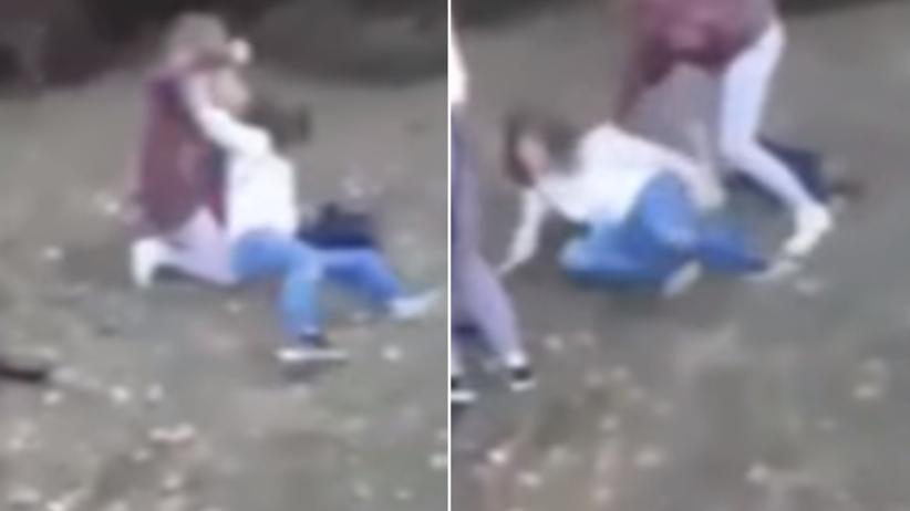 """""""Nie broń się, ku*wo, rozumiesz?!"""" Brutalne pobicie nastolatki w Bydgoszczy [WIDEO]"""