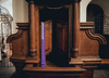 Bydgoszcz. Konfesjonał zapalił się podczas mszy świętej w bazylice