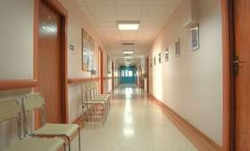Pożar instalacji elektrycznej w bydgoskim szpitalu