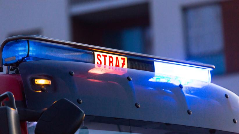 Wyciek gazu na stacji paliw w Bydgoszczy. Szosa w obu kierunkach zamknięta