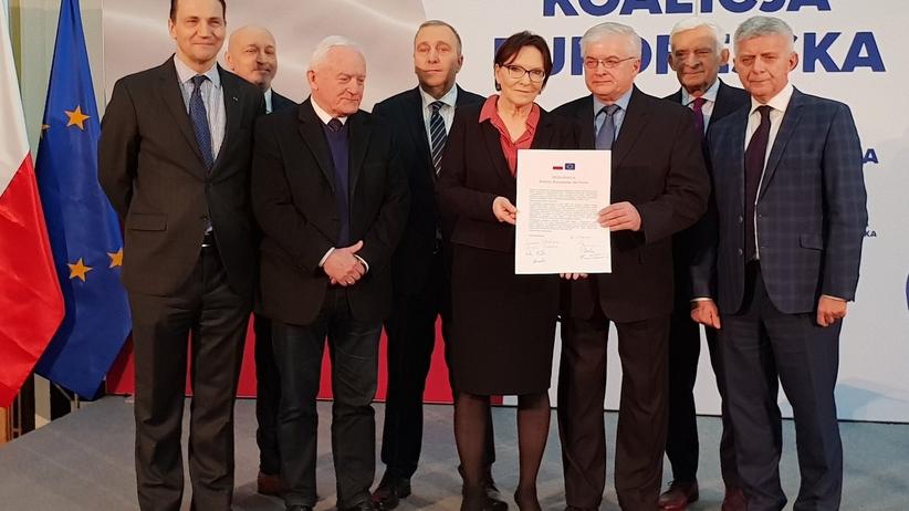 Byli premierzy apelują o budowę Koalicji Europejskiej w wyborach do Parlamentu Europejskiego