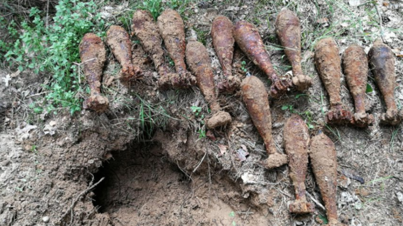 W polskim lesie odkryto prawdziwy arsenał! To 100 kg materiału wybuchowego z II wojny światowej [FOTO]