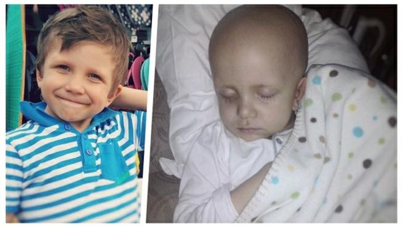 Chory na raka mózgu 6-latek z Poznania potrzebował 2 mln złotych. Bliscy zorganizowali zbiórkę