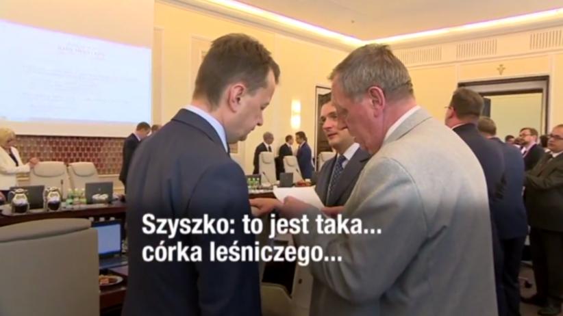 Córka leśniczego i koperta Szyszki dla Błaszczaka: Bielan chce komisji