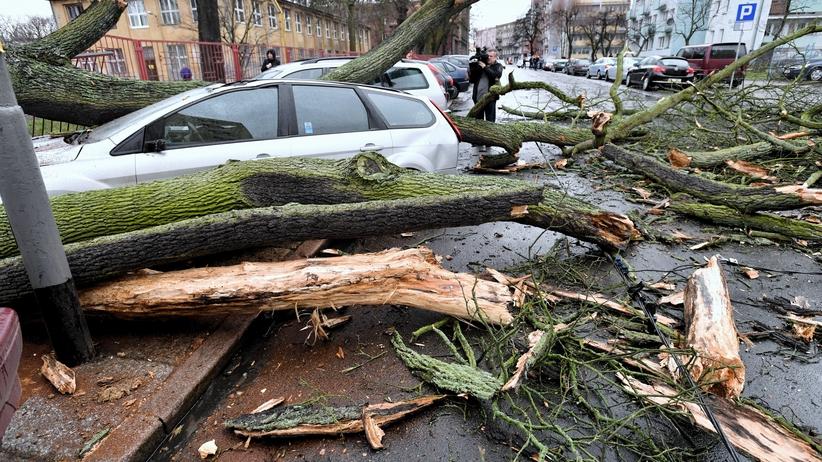 Cyklon Bennet szaleje nad Polską. Nowy ALERT IMGW dla 11 województw