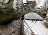Silne wichury w zachodniopomorskiem. Powaliły drzewa i budynki