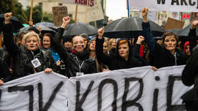 Czarny Protest kobiety