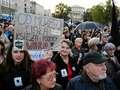 Czarny protest: Uczestniczki domagają się zaangażowania Agaty Dudy