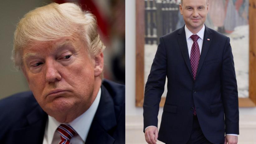 Czy Duda porozmawia z Trumpem o Smoleńsku? Jest komentarz