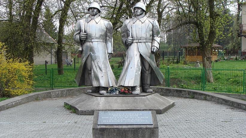 Pomnik w Dąbrowie Górniczej