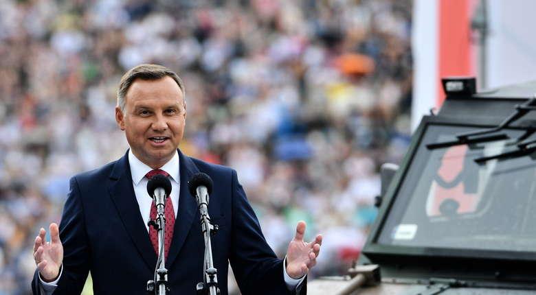 """Duda o polskich żołnierzach: Obronili Europę przed """"czerwoną zarazą"""""""
