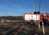Tragiczny wypadek na przejeździe kolejowym. Motocyklista wjechał pod pociąg