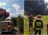 Dolnośląskie. Pożar nielegalnego składowiska pod Głogowem