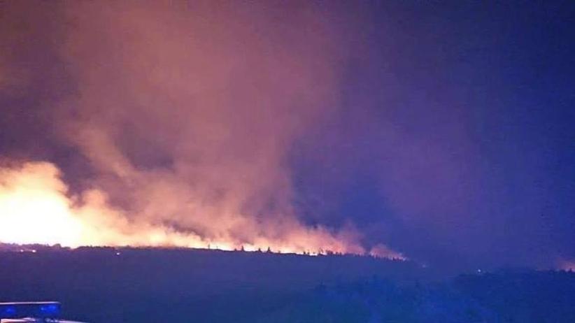 Pożar w Karkonoszach. Spłonęło około 8 hektarów