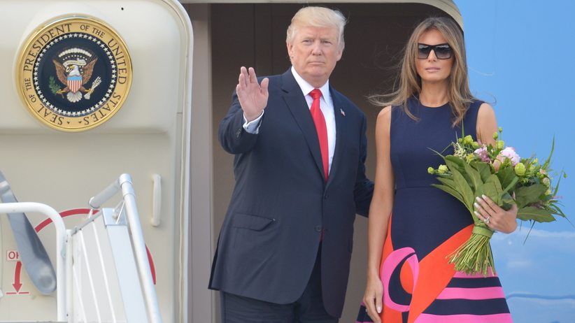 Donald Trump w Polsce: relacja na żywo