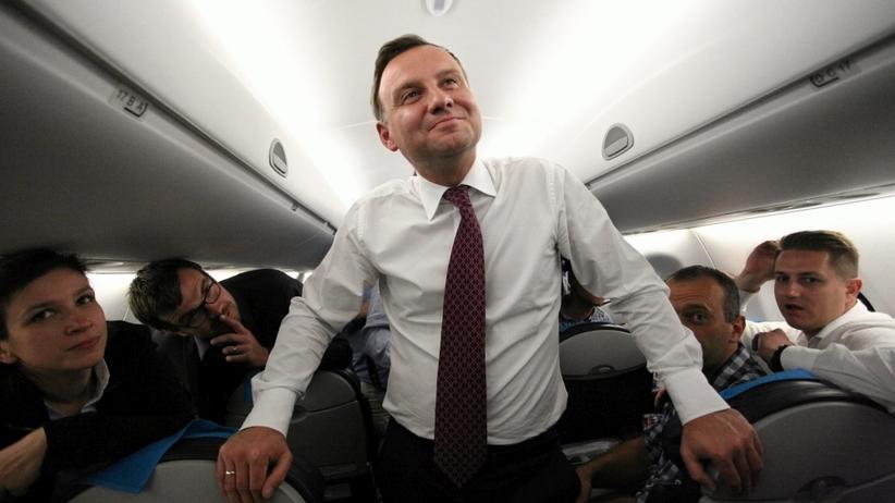 Rząd nie boi się drugiego Smoleńska? Duda, Macierewicz, Waszczykowski i Soloch w lecieli jednym samolotem