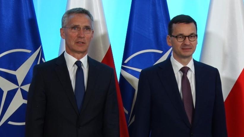Polscy politycy spotkali się z sekretarzem generalnym NATO: Nie ma pomiędzy nami żadnych rozbieżności [WIDEO]