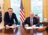 Duda tłumaczy słynne zdjęcie z Trumpem: Obiecywałem prezydenturę skuteczną