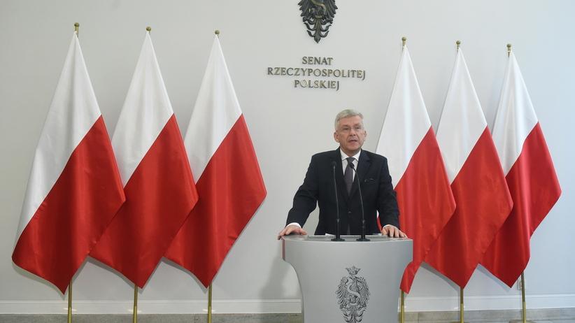 Dwa lata rządów PiS. Karczewski o tym, czego nie udało się zrobić