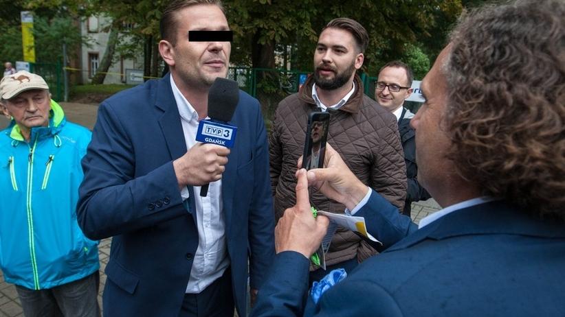 Dziennikarz TVP Łukasz S. usłyszał zarzuty za awaturę w pociągu