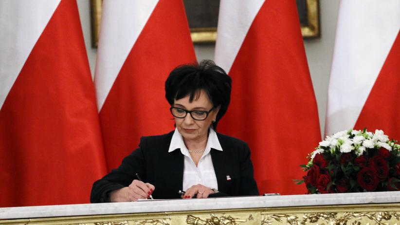 Jest pierwsza zmiana w rządzie! Elżbieta Witek odwołana ze składu Rady Ministrów