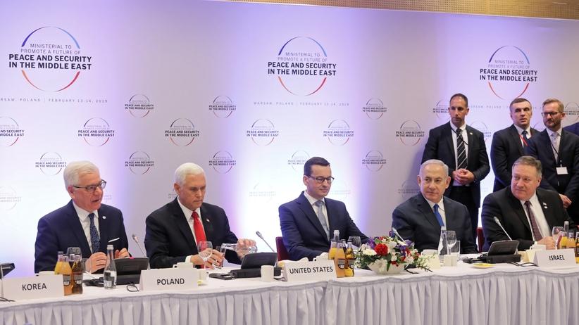 """Europejskie media krytycznie o konferencji w Warszawie, """"słoniu w salonie"""" i nieudanych zamiarach USA"""