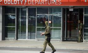 Ewakuacja lotniska w Modlinie. Powodem pozostawiony bagaż