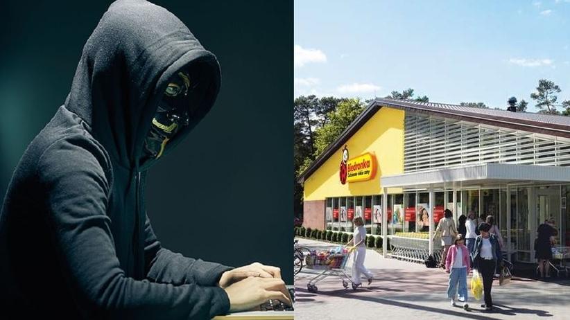 Haker i biedronka