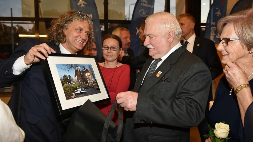 Gdańsk. 75. urodziny Lecha Wałęsy. Bankiet i koncert w operze