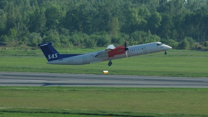 Awaryjne lądowanie samolotu w Gdańsku. Piloci wyczuli dym
