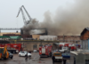 Kłęby dymu nad Gdańskiem. Spłonęła hala stoczniowa [WIDEO]