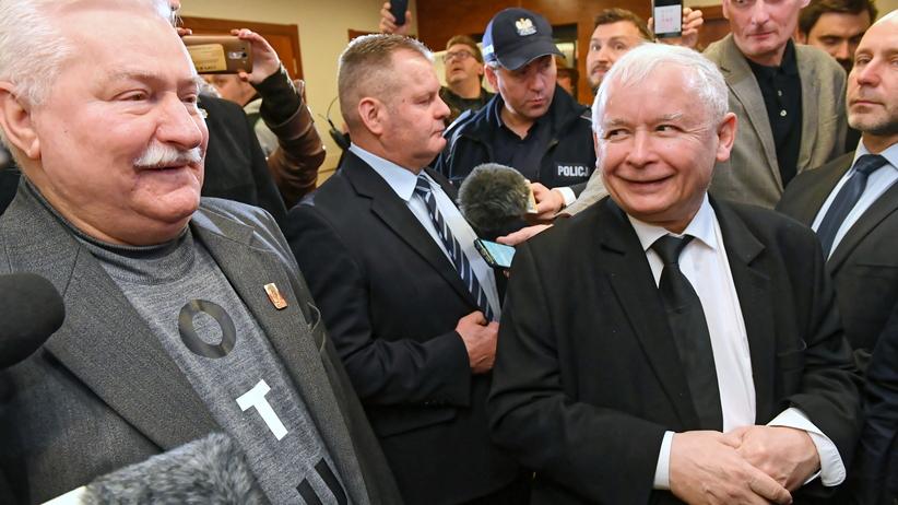 Ponad 8 godzin starcia Kaczyńskiego z Wałęsą. Bez ugody, wyrok w Mikołajki