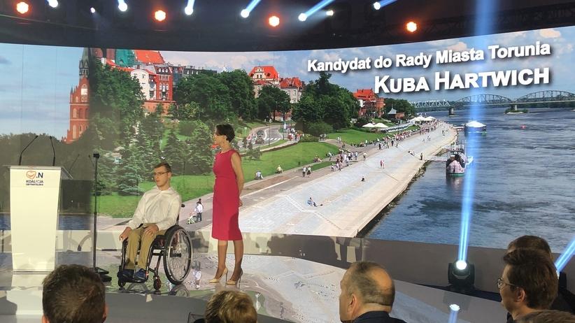 Niepełnosprawni, którzy protestowali w Sejmie, wystartują w wyborach