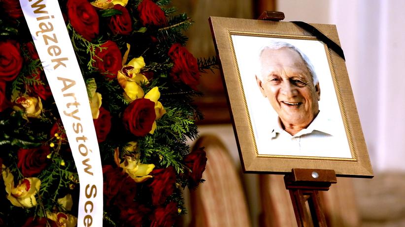 Pogrzeb Witolda Pyrkosza. Gliński: żegnamy artystę spełnionego [GALERIA]
