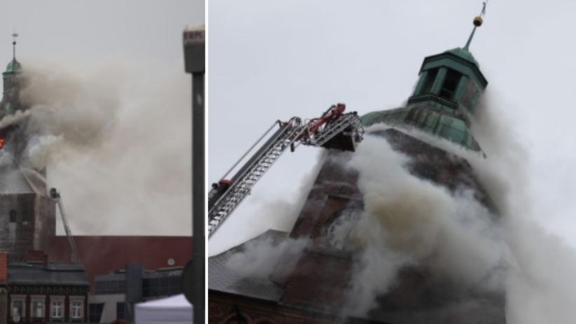 Pożar katedry w Gorzowie Wlkp. Straż pożarna wydała komunikat