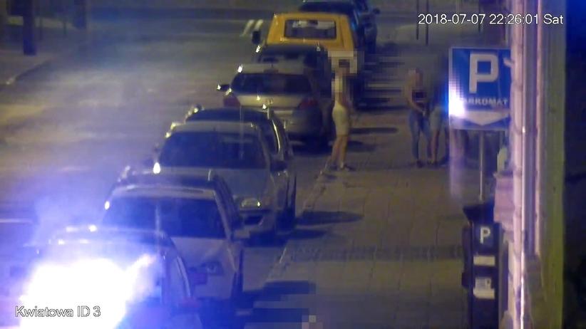 Grudziądz. 27-latek podpalił samochód w centrum miasta
