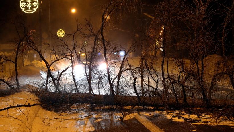 Niebezpieczna noc w pogodzie. Strażacy OSTRZEGAJĄ mieszkańców
