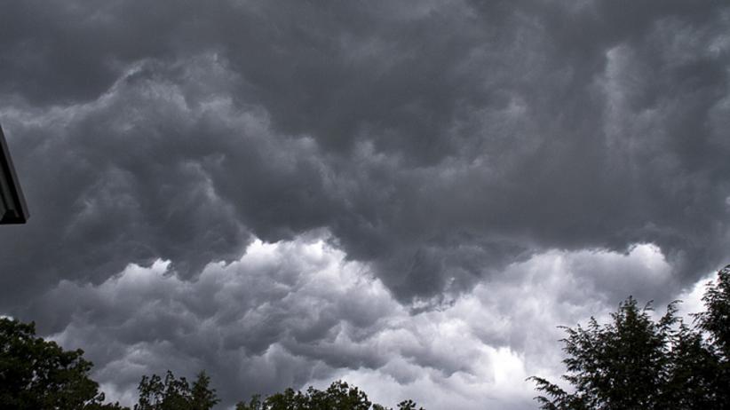 burza, chmury