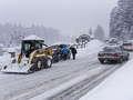 Intensywne opady śniegu!  IMGW ostrzega