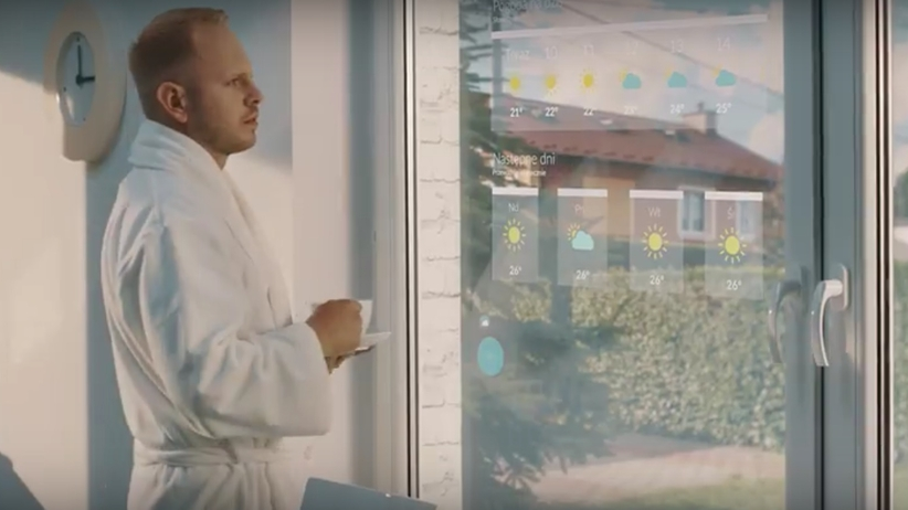 Interaktywne okno SmartWindow. Rewolucyjny wynalazek polskiej firmy
