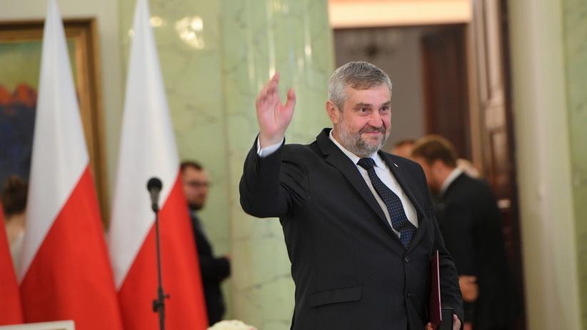 Już oficjalnie! Jan Ardanowski nowym ministrem rolnictwa  [WIDEO]