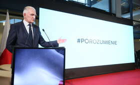 Jarosław Gowin ogłosił nazwę nowej partii: Jest otwarta na was wszystkich, dołączcie