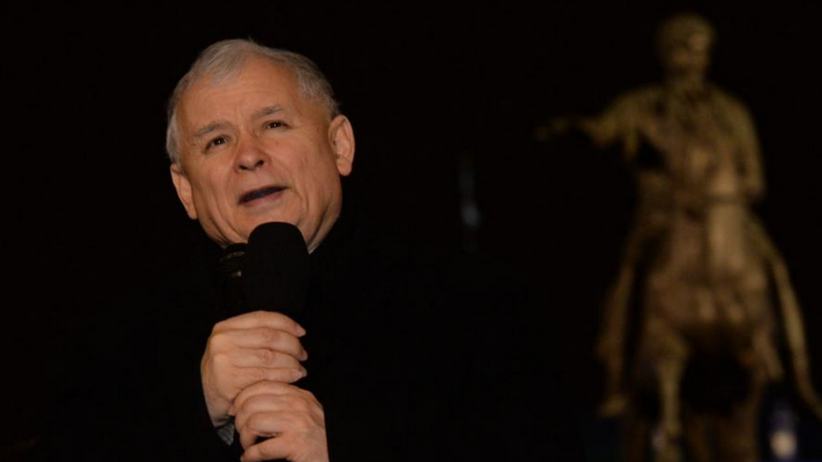 Jarosław Kaczyński przed Pałacem Prezydenckim: Doszło do wybuchu!
