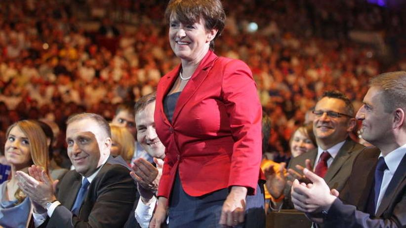 Kluzik-Rostkowska: Długa lista ministrów wybierających się do PE to wielka ucieczka