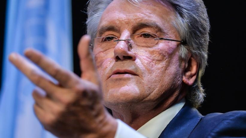 Juszczenko do Polaków: naprawdę uważacie, że Ukraińcy nigdy nie padali waszymi ofiarami?