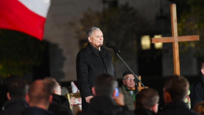 Kaczyński podczas miesięcznicy: być może prawdy nie uda się do końca ustalić