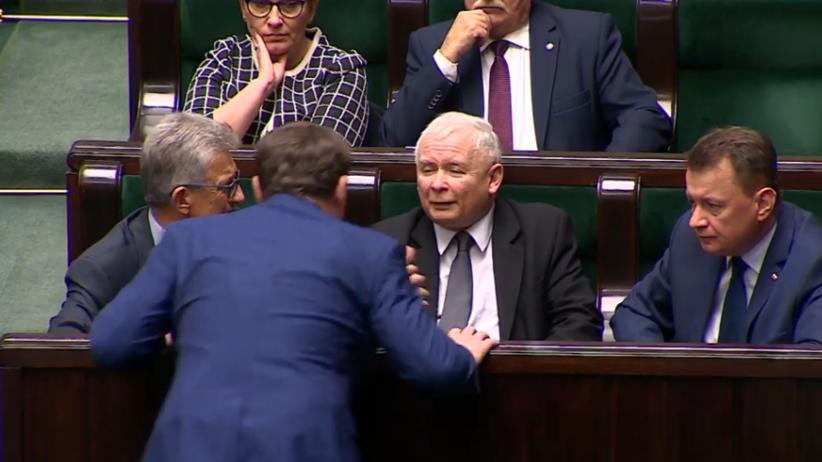Wiemy, jak Kaczyński zrugał Tarczyńskiego. Padły równie mocne słowa [WIDEO]
