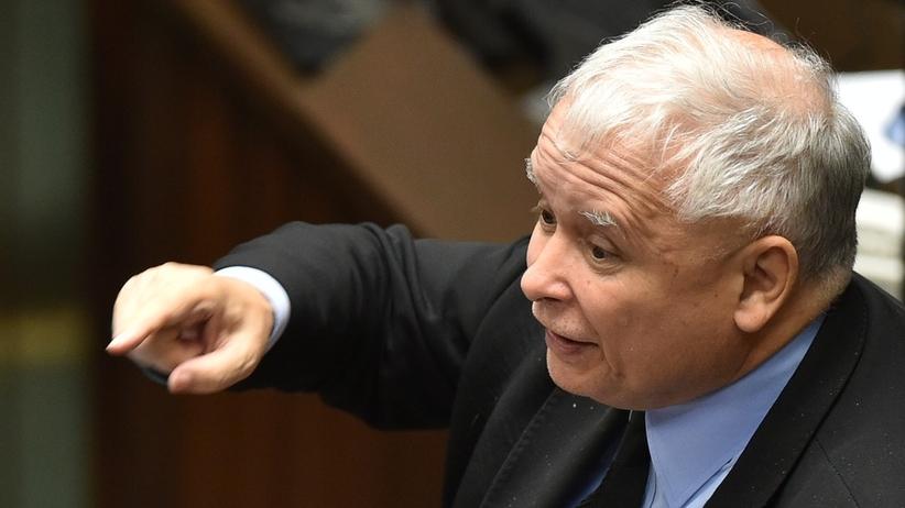 """Kaczyński do Rabieja: """"WARA od naszych dzieci"""""""