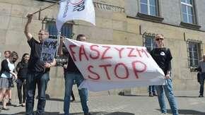 Brudziński: Gdyby nie faszystowskie i nazistowskie symbole, to polska policja nie musiałaby interweniować